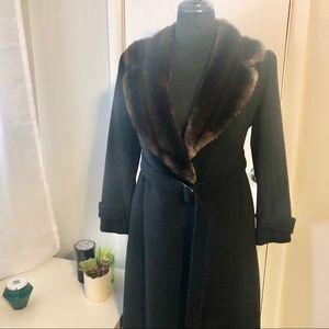 Ralph Lauren wool, full length coat